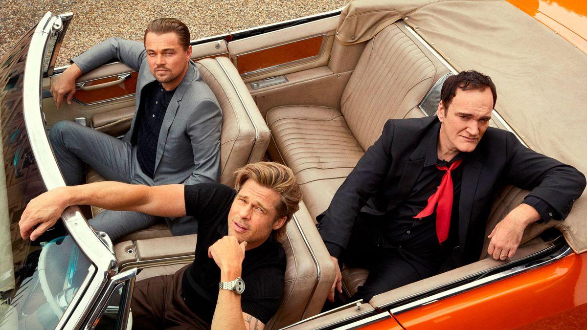 Leonardo Di Caprio y Brad Pitt protagonizaron el filme de Quentin Tarantino.