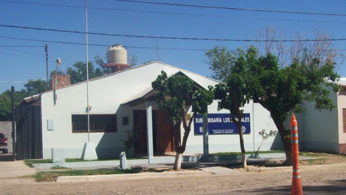 En la subcomisaría de Los Barriales