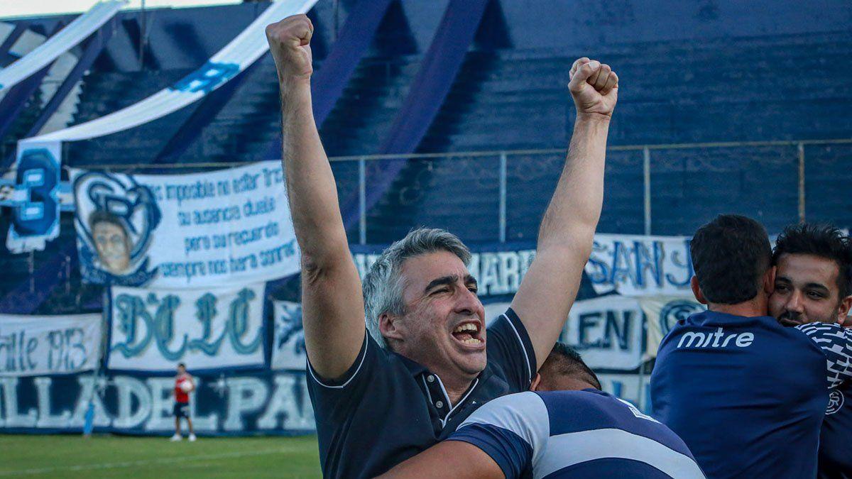 Gabriel Gómez disfruta este buen momento de la Lepra en la Primera Nacional.