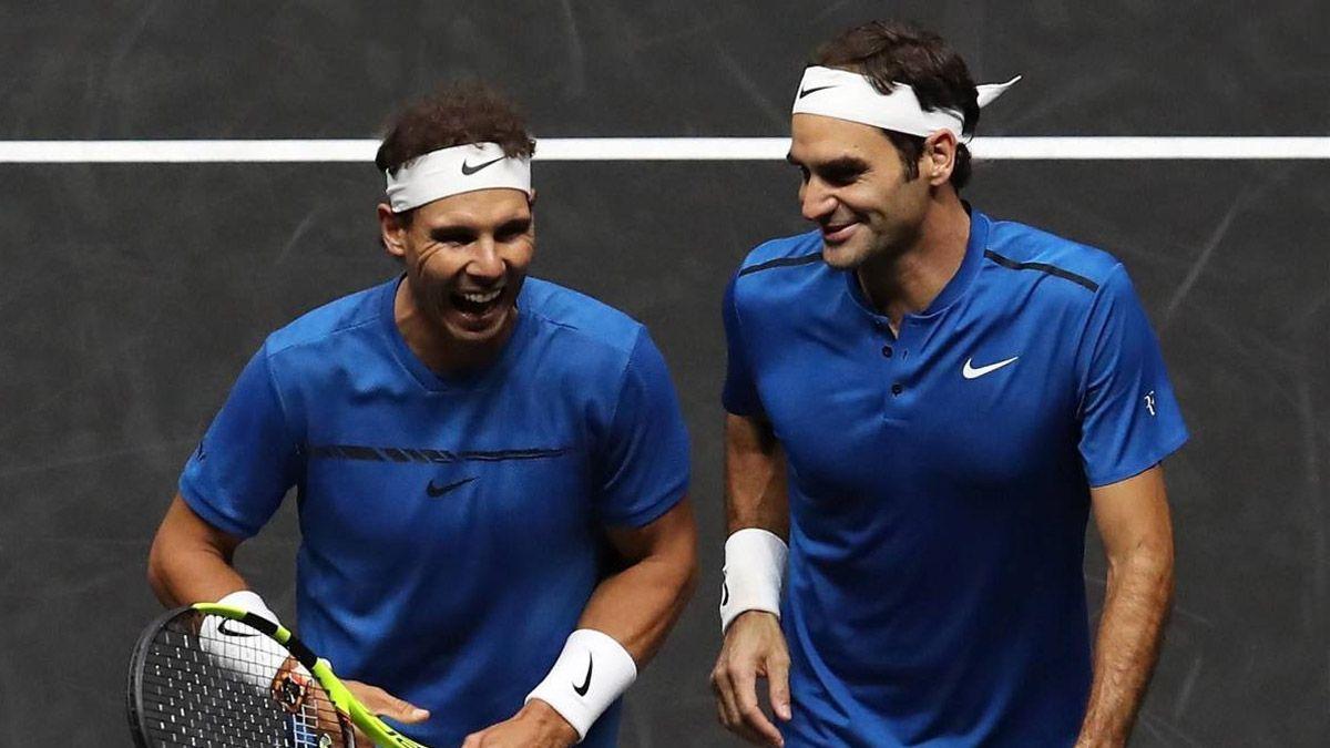 Nadal llenó de elogios a Federer