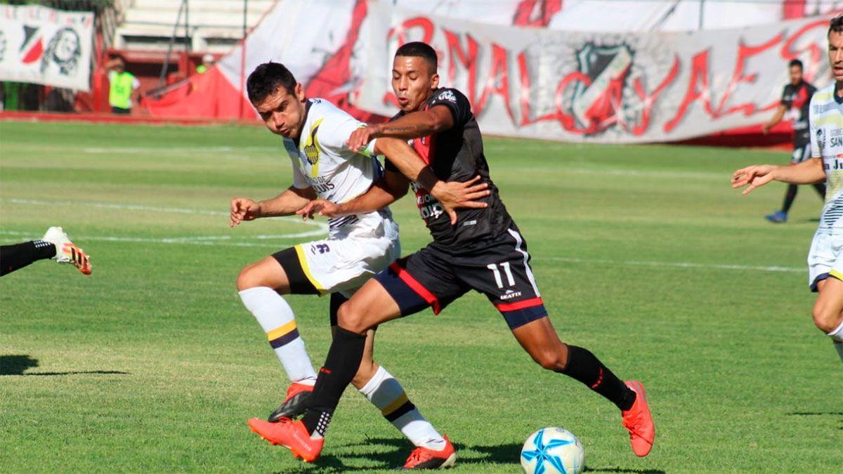 Deportivo Maipú venció a Juventud Unida y se subió a la cima