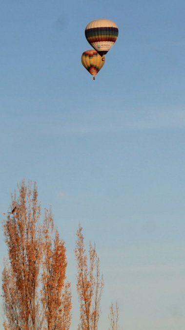Una tarde de otoño muy particular en Junín