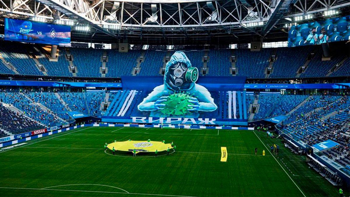 El Zenit vacunará a sus hinchas durante los partidos
