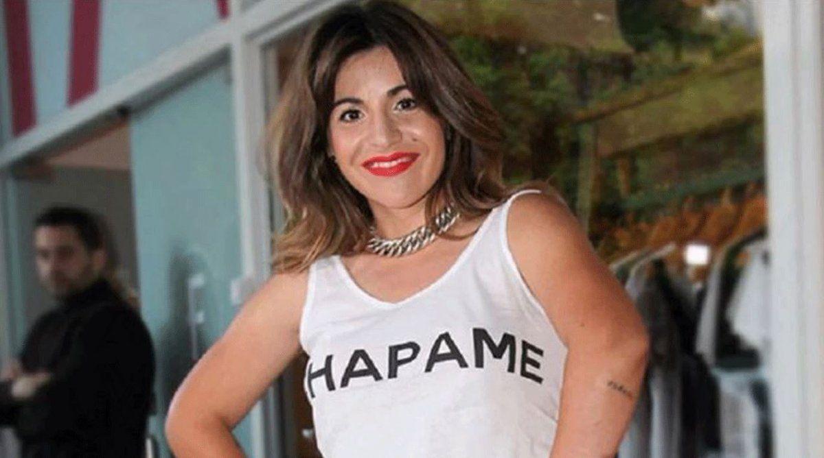 La furia de Gianinna Maradona.