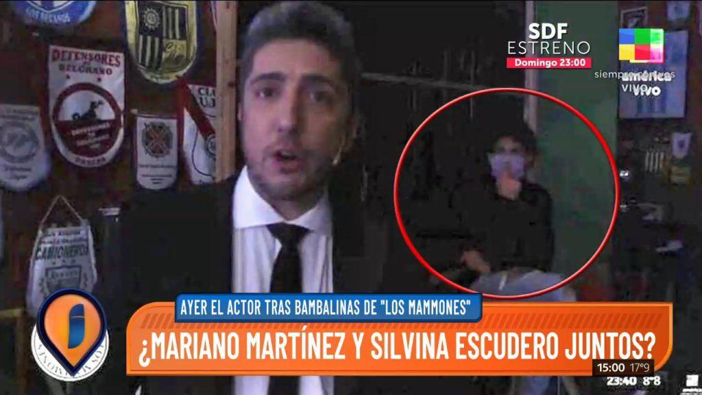 ¡Infraganti! La foto que confirma el romance de Silvina Escudero y Mariano Martínez