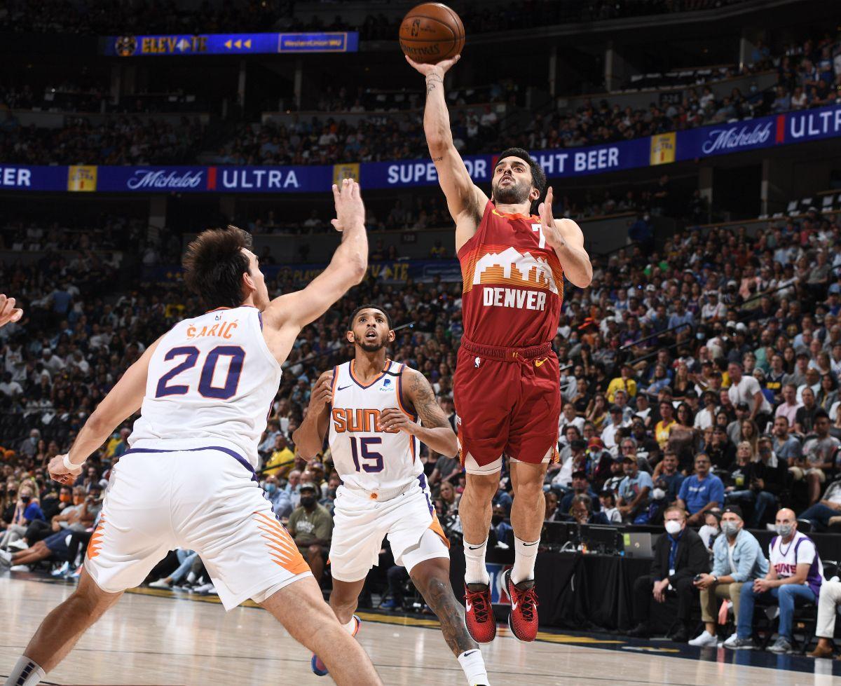 Se acabó la temporada de la NBA para Facundo Campazzo y los Denver Nuggets.