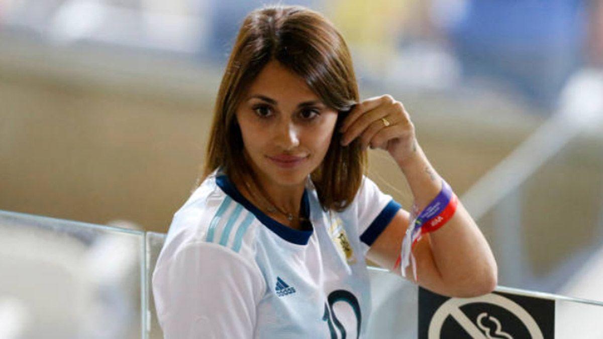 Antonela Roccuzzo presentó al nuevo integrante de los Messi