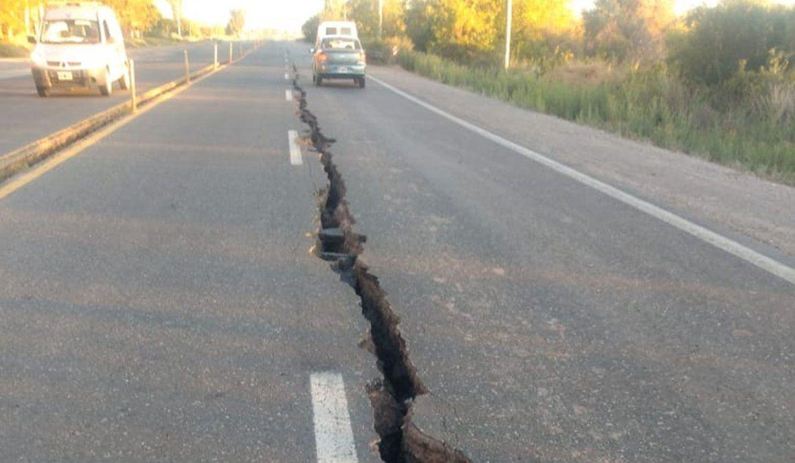 Así quedó la ruta de Mendoza a San Juan: se abrió a la mitad