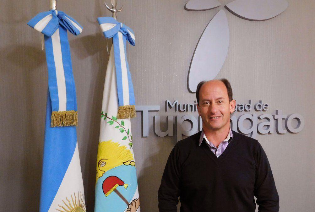 El intendente de Tupungato