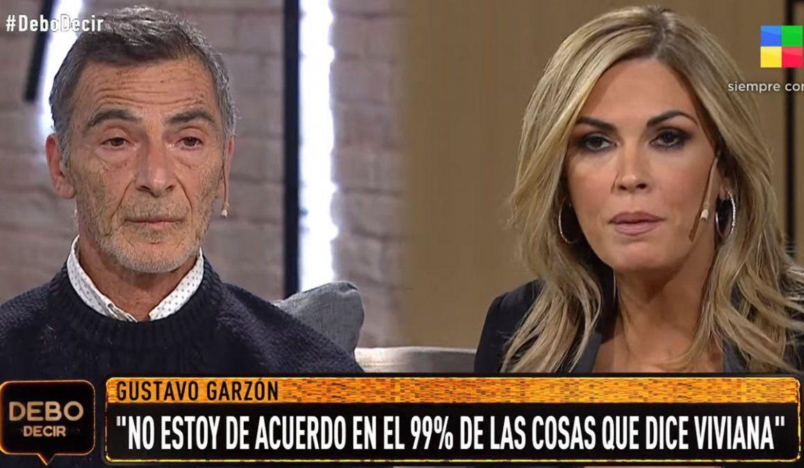 Gustavo Garzón cruzó a Viviana Canosa con altura