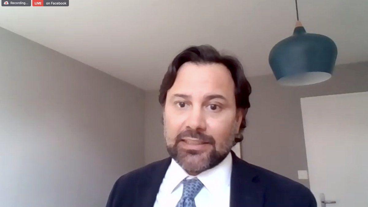 Santiago Cornejo había declarado ayer que la Argentina no aceptó el arribo de dosis del laboratorio americano. Este miércoles aclaró el sentido de sus palabras.