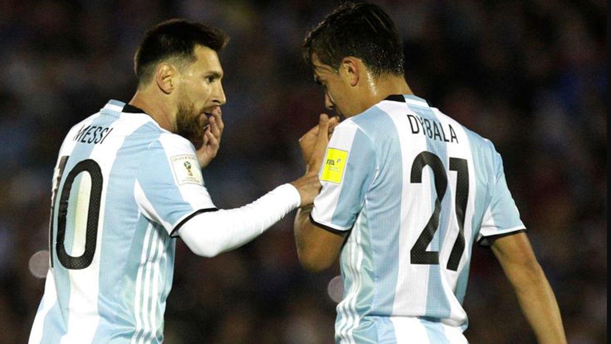 Messi y Dybala fueron citados a la Selección Argentina por Lionel Scaloni.