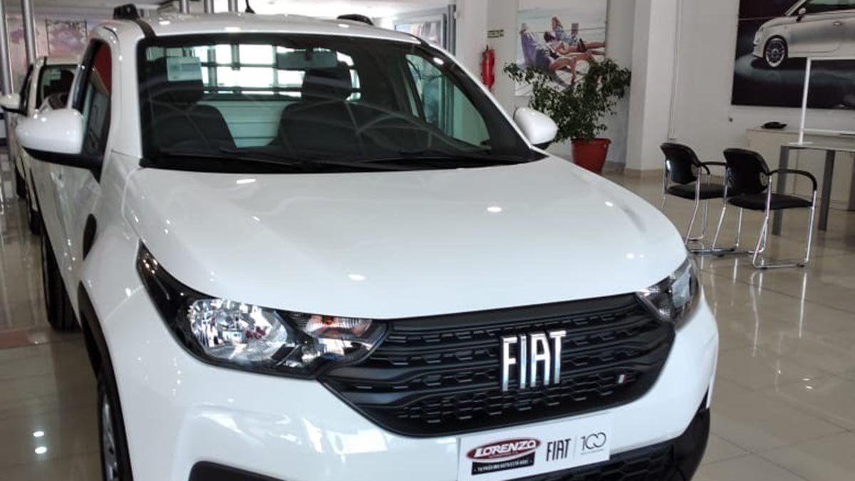 Llegó la nueva Fiat Strada a Lorenzo