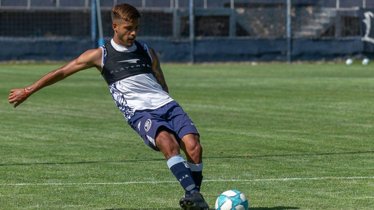 El juvenil Enzo Suraci será titular en Mataderos.