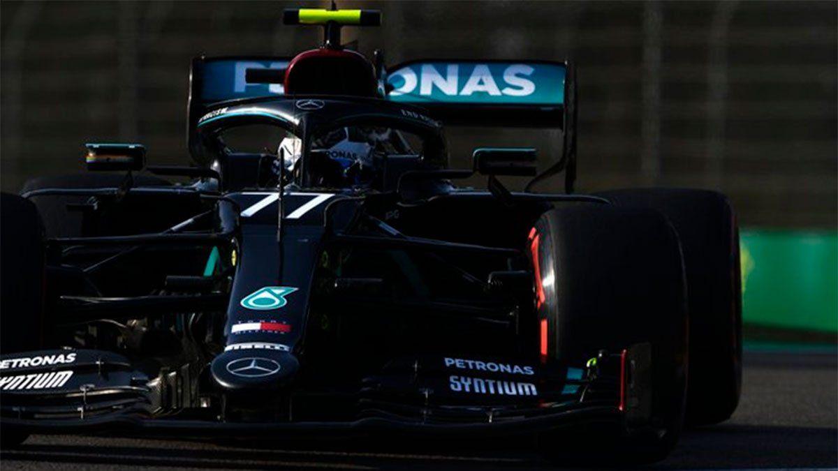 Valtteri Bottas ganó la pole en el GP de Emilia Romagna