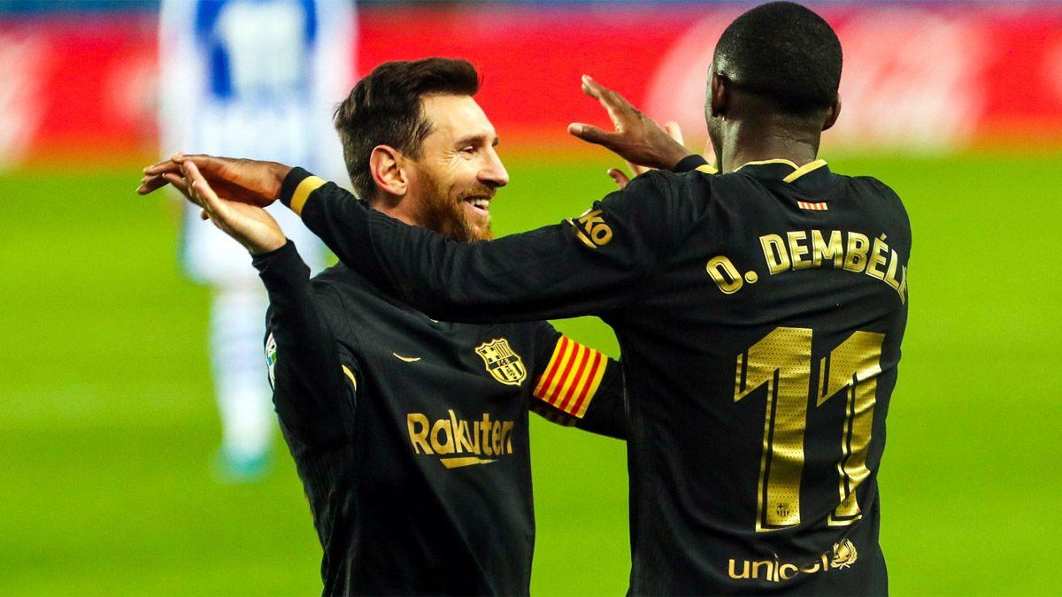 Messi es una máquina de romper récords en el Barcelona