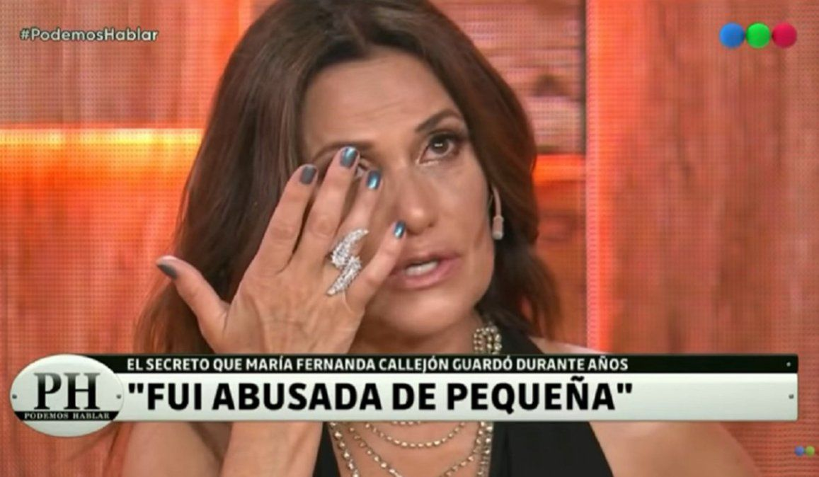 María Fernanda Callejón se quebró: Fui abusada por mi tío a los 10 años