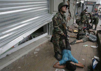 Aún no llegó la ayuda a la ciudad chilena de Concepción