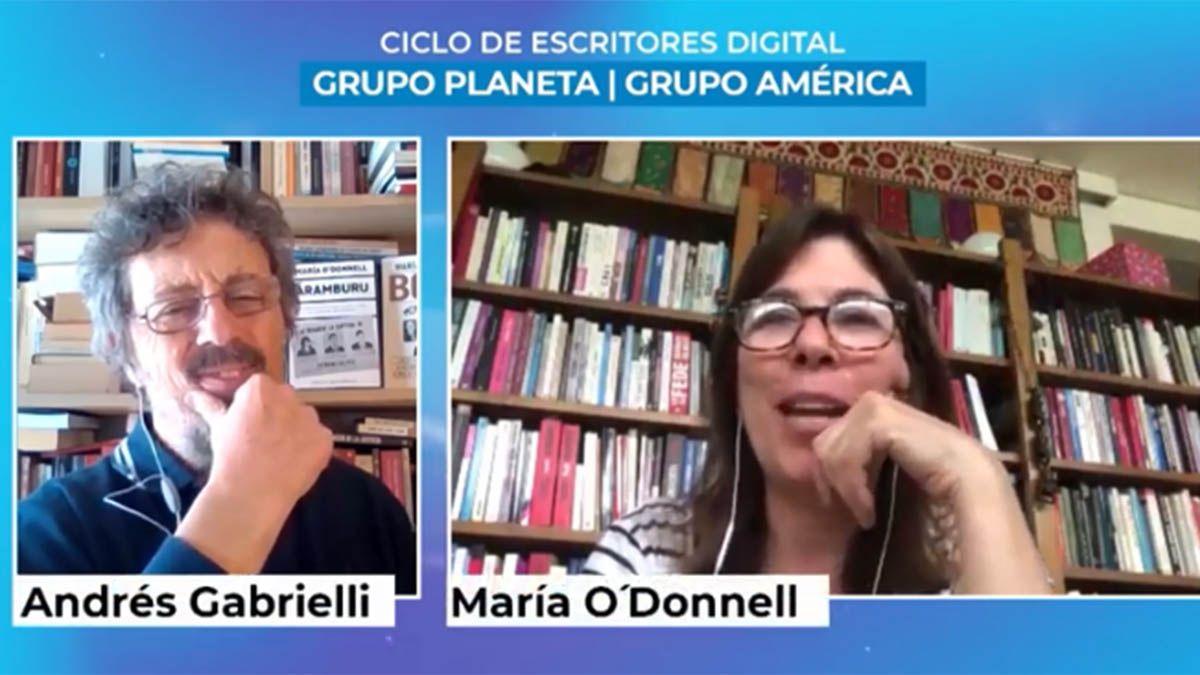 María ODonnell inauguró el Ciclo de Escritores de Grupo Planeta y Grupo América
