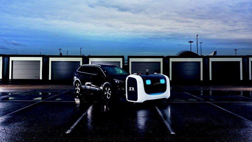 Un robot que te estaciona el auto