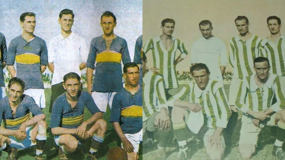 Boca y Banfield, un siglo después, en otra final de Copa