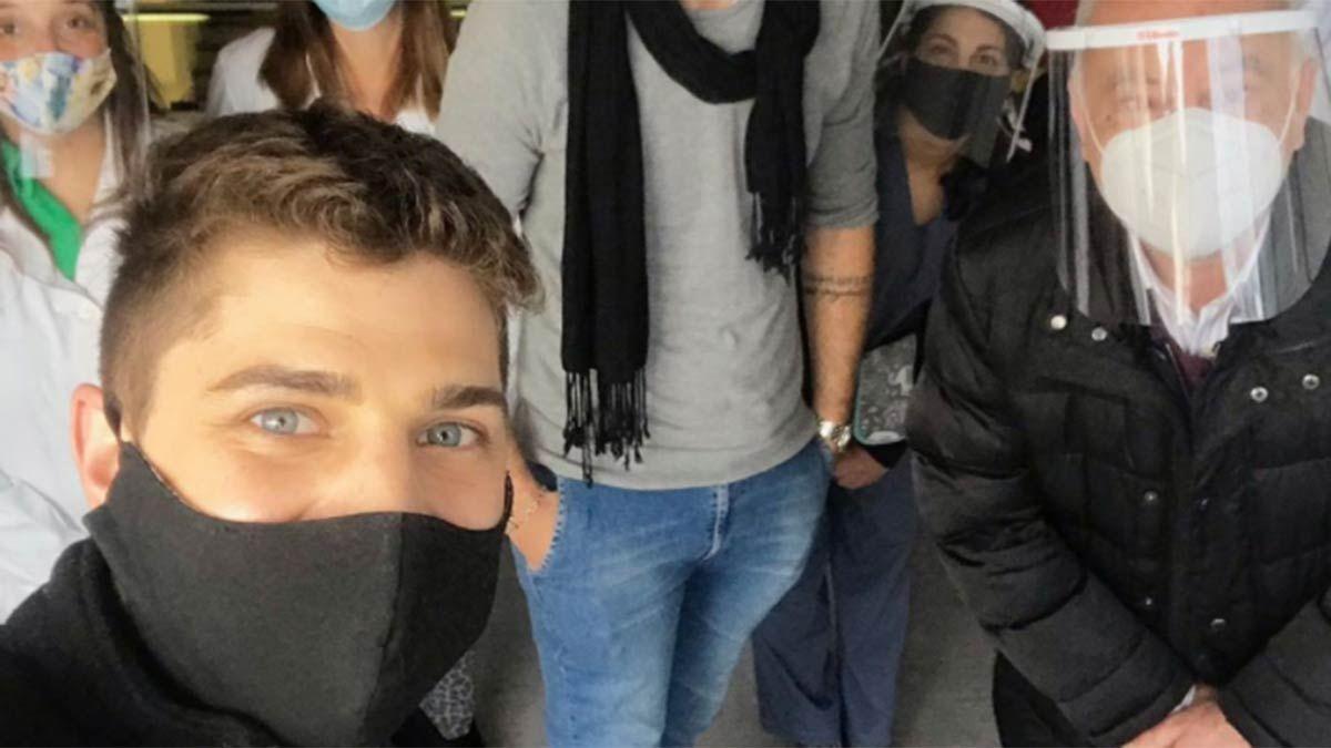 Emiliano Ivaldi podrá donar plasma.