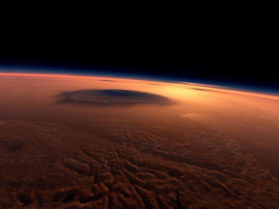 Imagen de la NASA de la superficie del planeta Marte