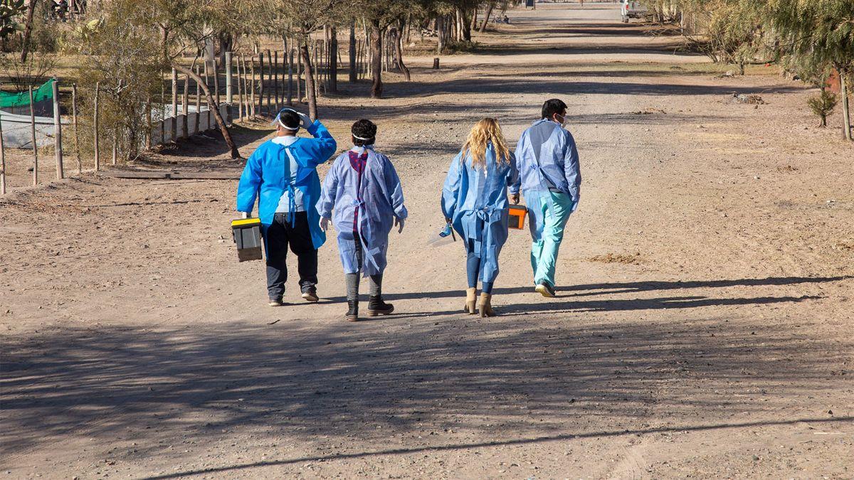 como es el operativo de vacunacion rural en mendoza