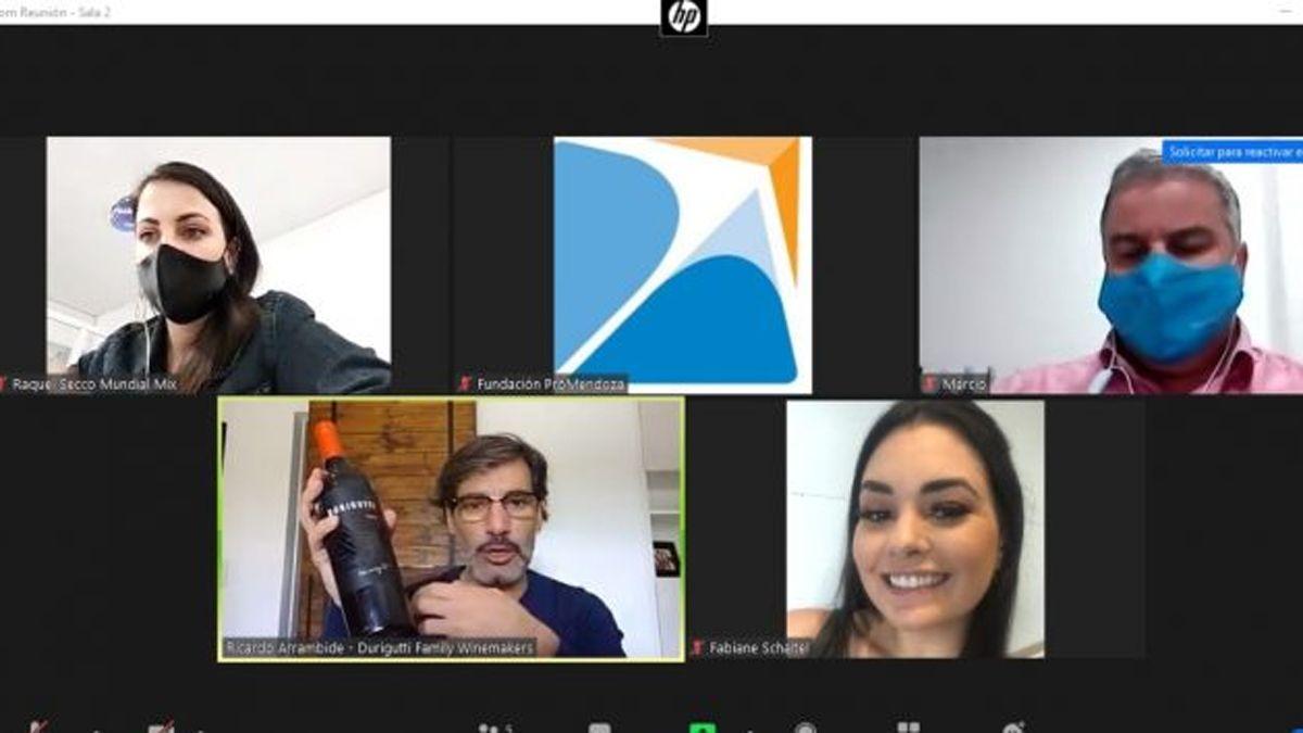 Bodegas de Mendoza buscan ampliar la venta de vinos a Brasil