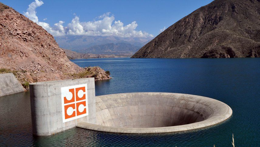 Por limpieza en Potrerillos advierten que puede haber turbidez en el agua potable