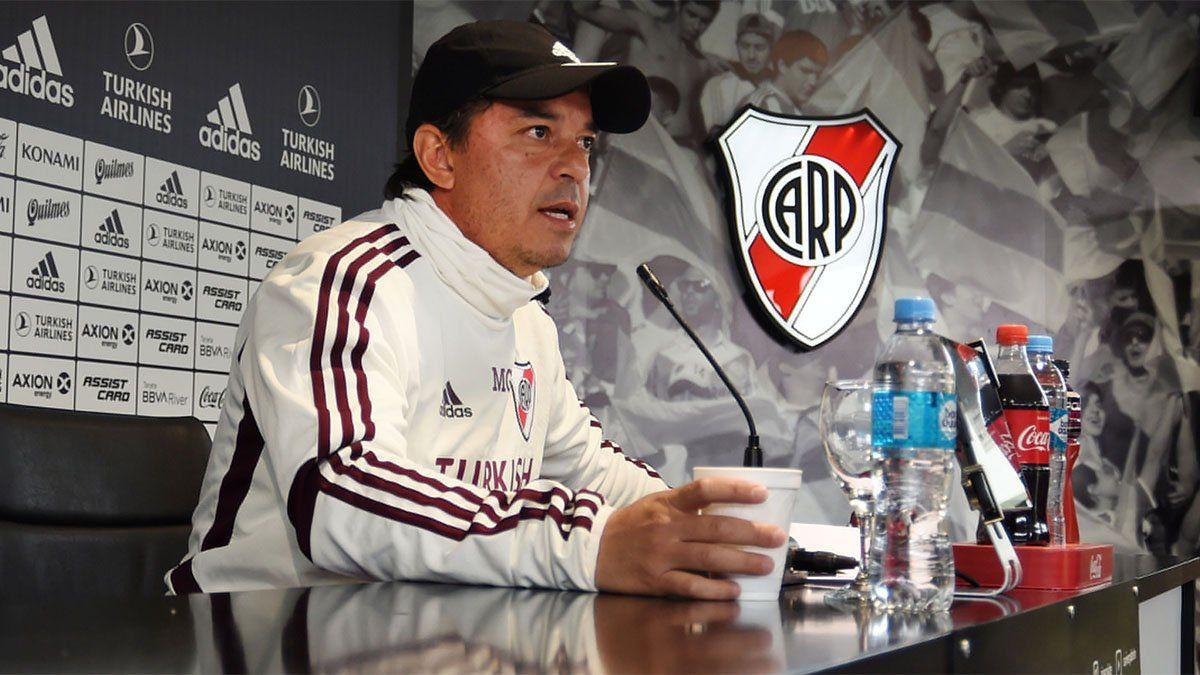Marcelo Gallardo: River no está en oferta