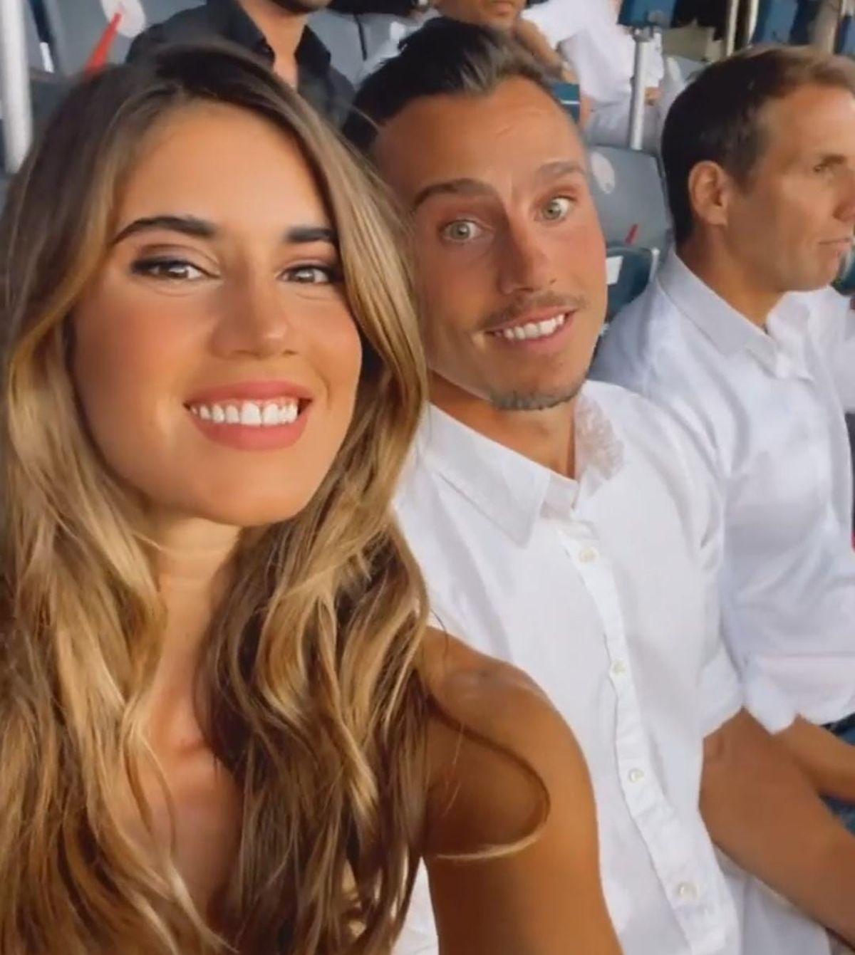 Natacha Eguía junto a Juan Imhoff y Gonzalo Quesada.