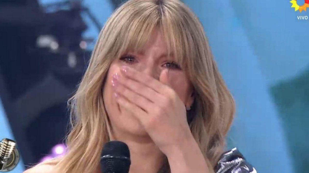 ¿Qué pasó? Laurita Fernández rompió en llanto en el Cantando 2020