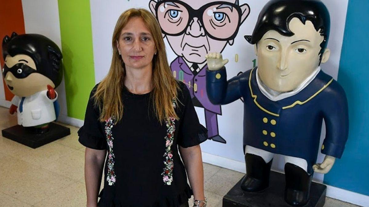 La directora de la señal Pakapaka