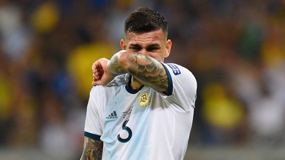 El triste momento de Leandro Paredes en la concentración de la Selección