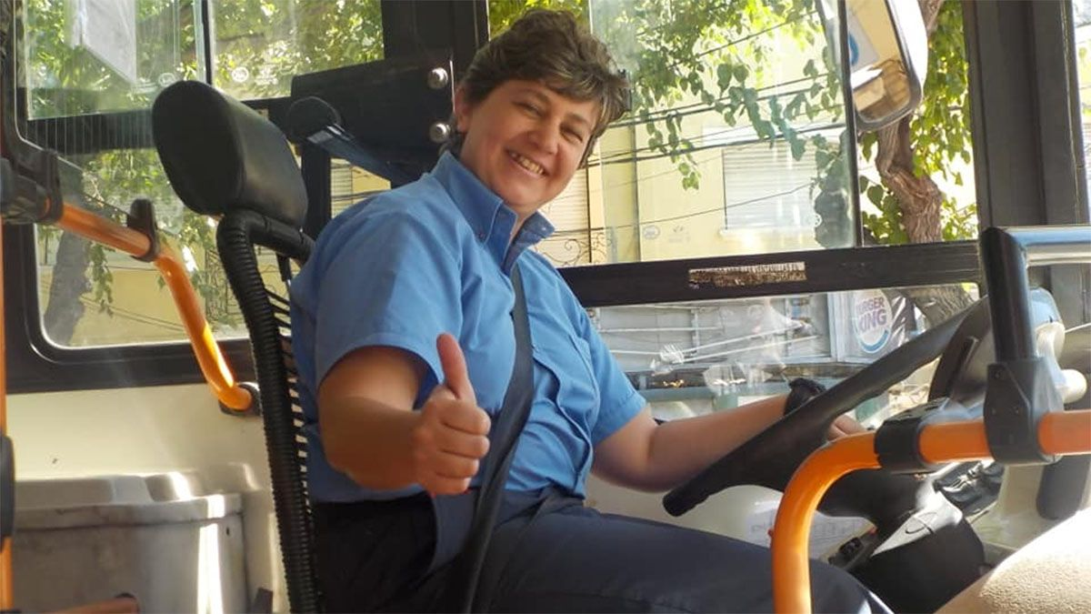 El triste adiós a una chofer de colectivo de Mendoza