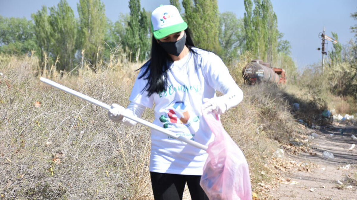 El proyecto de la brigada ecológica fue creado por jóvenes santarrosinos quienes ya habían trabajado sobre reciclaje y el cuidado del medioambiente