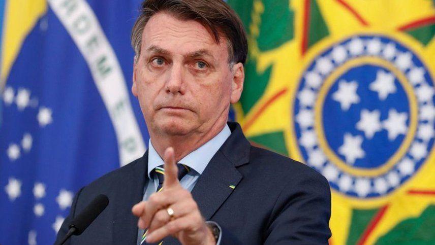 Bolsonaro amenazó con retirar a su país de la OMS al igual que lo hizo Trump