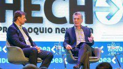 Macri llamó a no repetir los errores del pasado en el precoloquio de IDEA