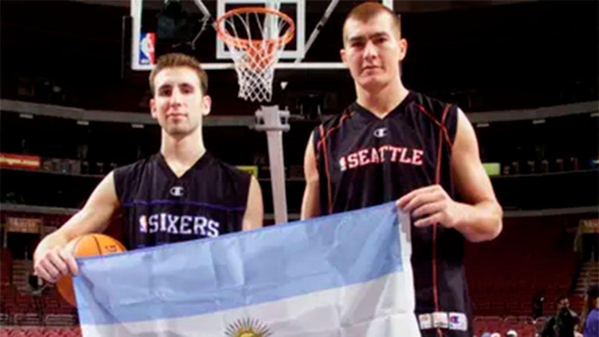 Se cumplen 20 años del primer argentino en la NBA