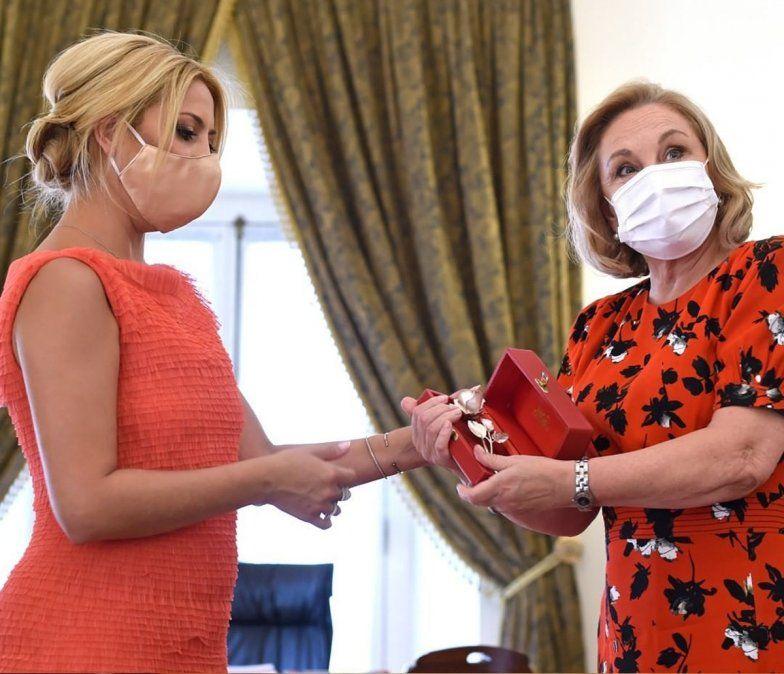 La foto que desató el rumor del embarazo de Fabiola Yáñez