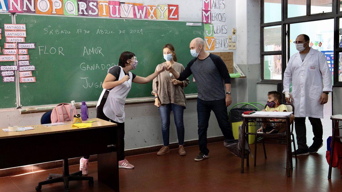 La Justicia bonaerense le dio la razón a Horacio Rodríguez Larreta para que este lunes haya clases presenciales en la Ciudad de Buenos Aires.
