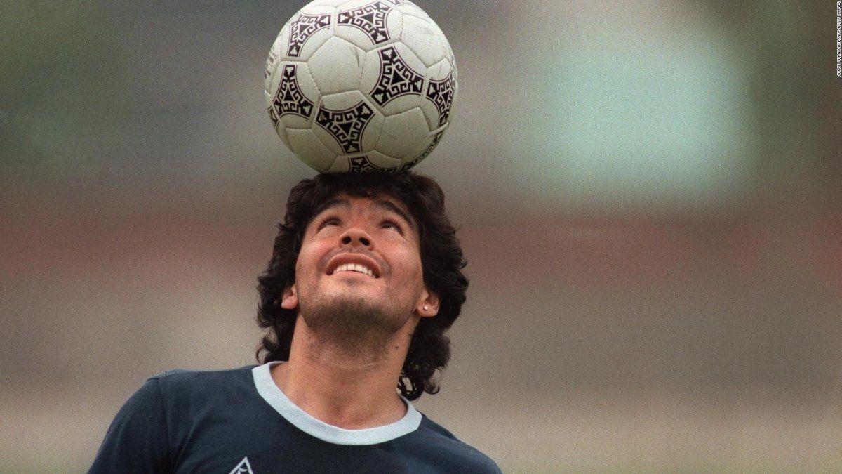Diego Maradona murió a los 60 años.