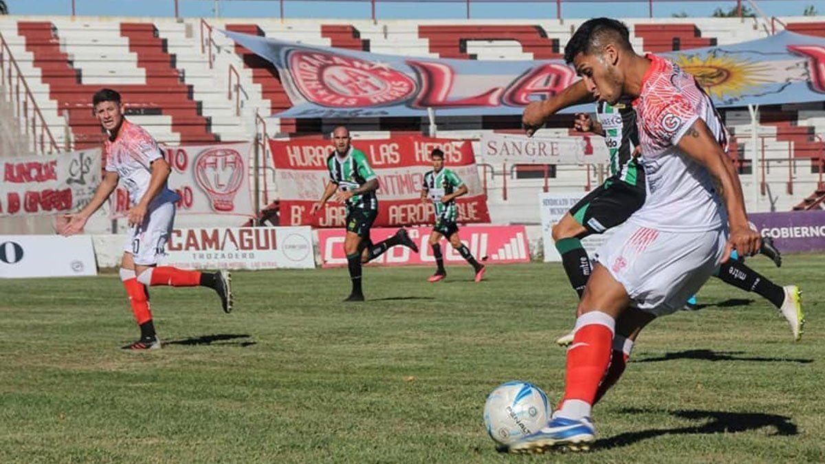 Nicolás Inostroza palpitó el choque ante Sportivo Desamparados.