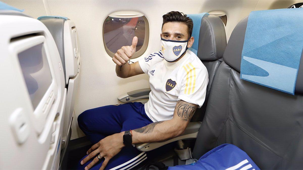 Eduardo Salvio será titular en Boca