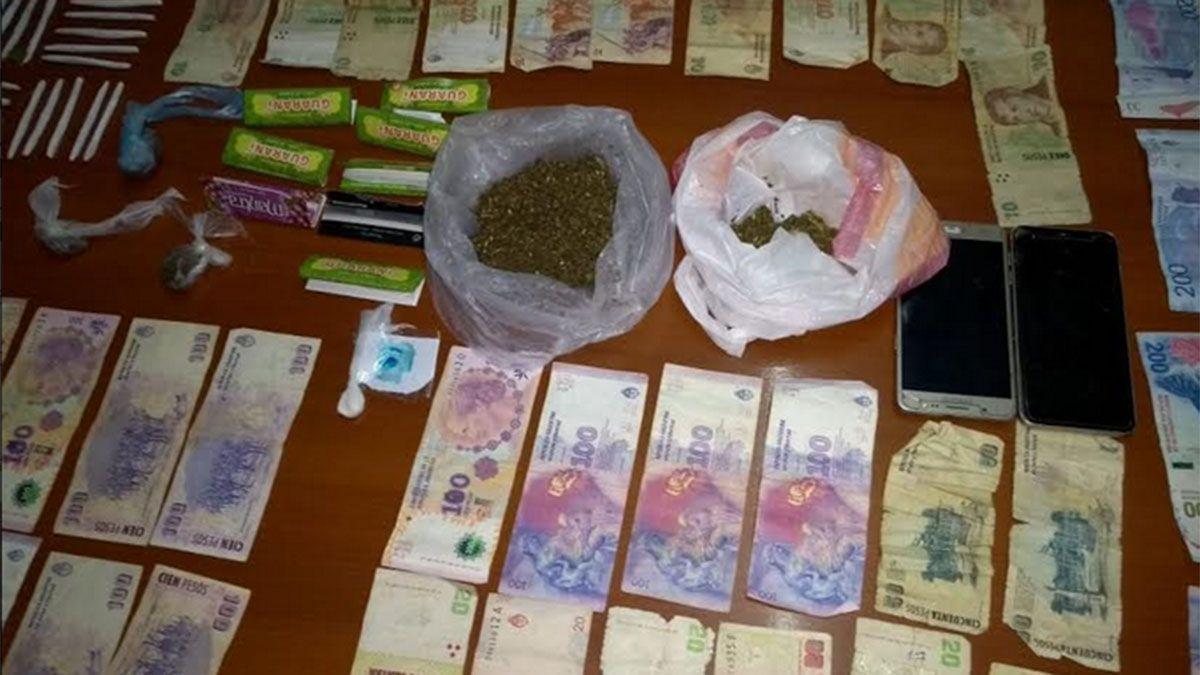 Encontraron un quiosco de drogas en una casa de Guaymallén