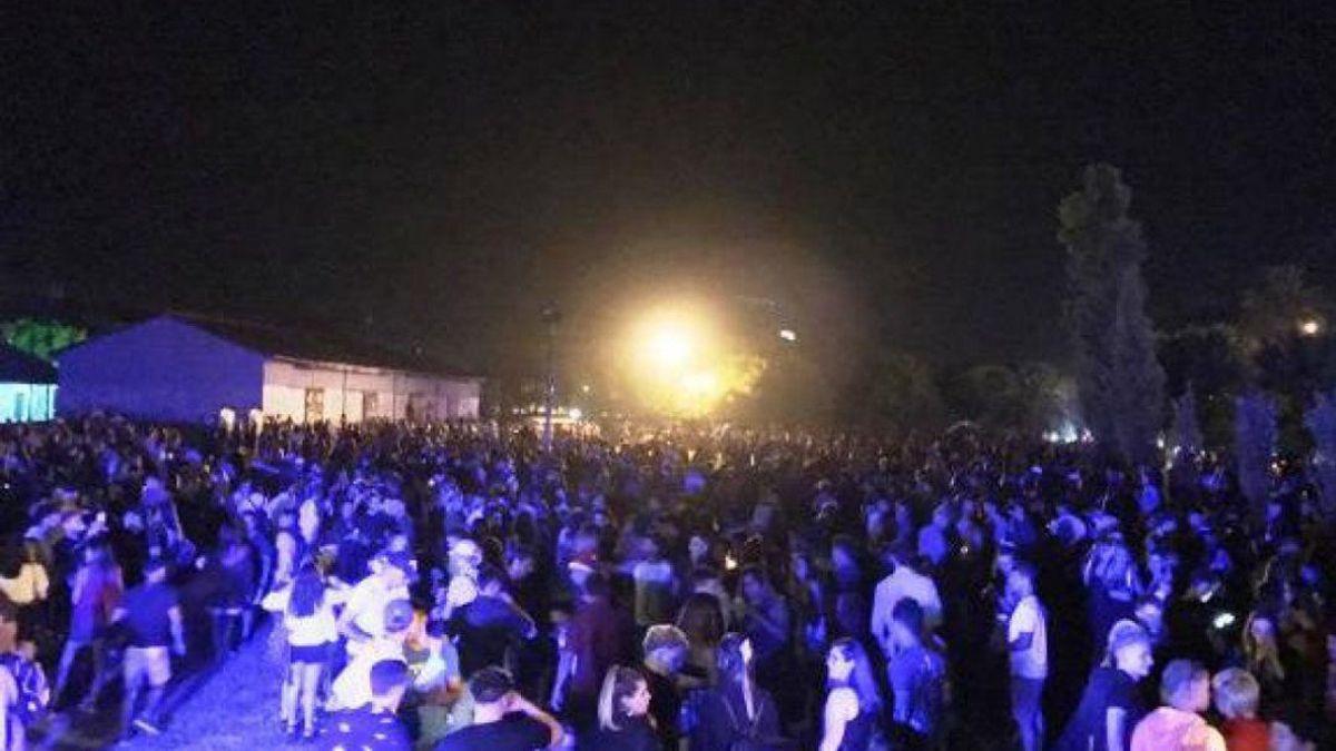 Este fin de semana detectaron dos fiestas clandestinas en Mendoza. Imagen ilustrativa.