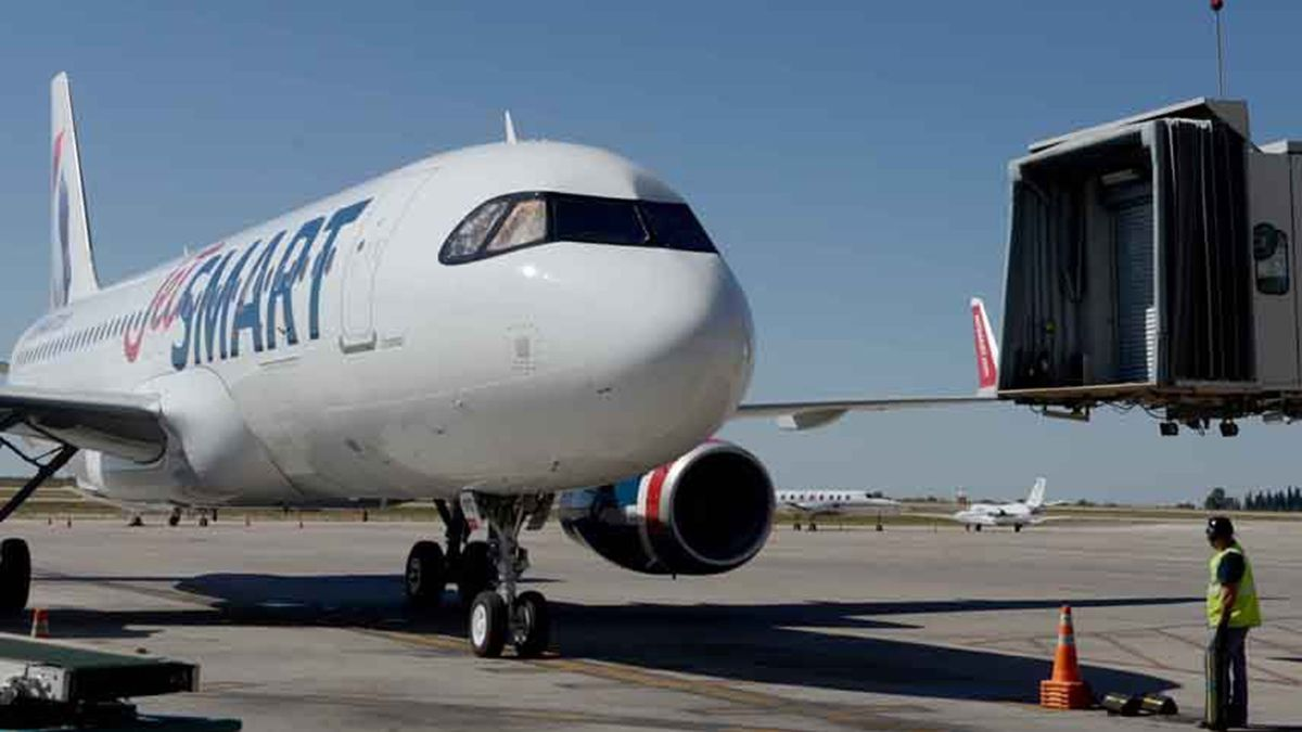 JetSmart tiene programado vuelos de cabotaje a Mendoza.