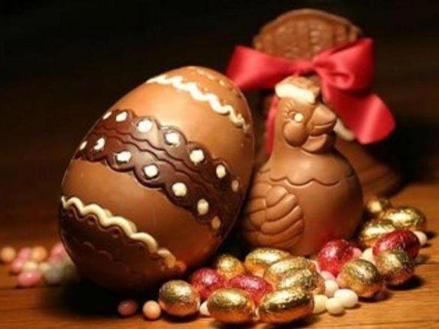 La mitad del chocolate que exportó Argentina fue como huevos de pascua