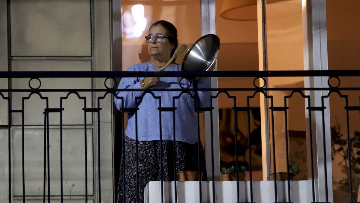 Cacerolazos y bocinazos en Buenos Aires contra las nuevas restricciones
